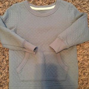 Genuine kids light blue boys quilted sweatshirt